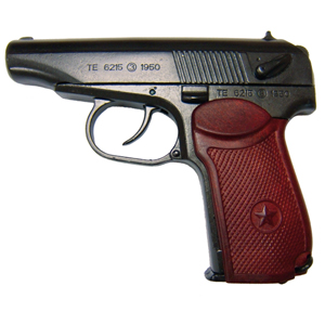 Makarav PM Semi-Automatic, Russian cold-war military sidearm